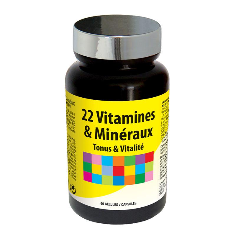 22 VITAMINES & MINERAUX