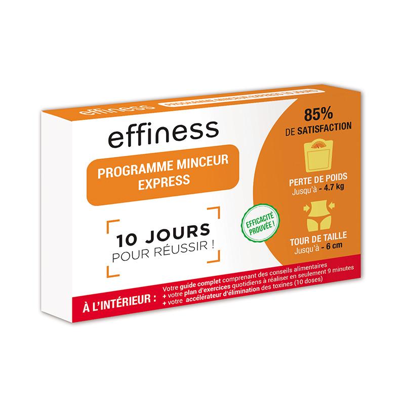 PROGRAMME MINCEUR EXPRESS 10 J EFFINESS